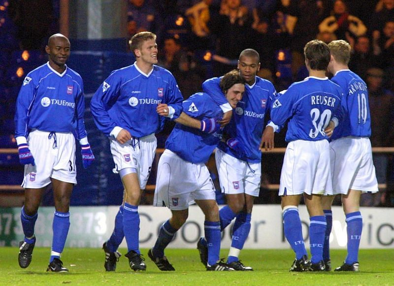 Ipswich Town stunned everyone by finishing 5th in the 2000-01 Premier League season