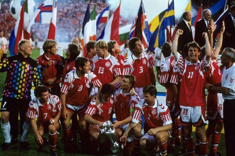 Denmark pulled off a huge upset by winning Euro 1992