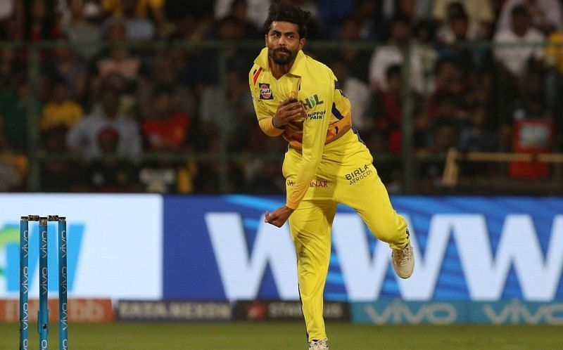 Ravindra Jadeja has the best bowling figures in an innings for CSK.