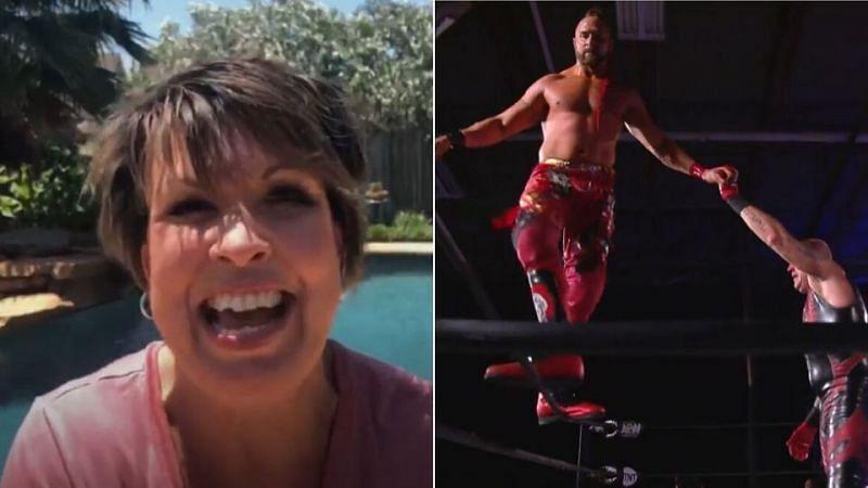 AEW Dynamite Results: Former IMPACT star debuts, Vickie Guerrero, 2 TNT Championship tournament semis