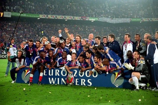 Euro 2000 - won by France - is considered perhaps the greatest international tournament of all time