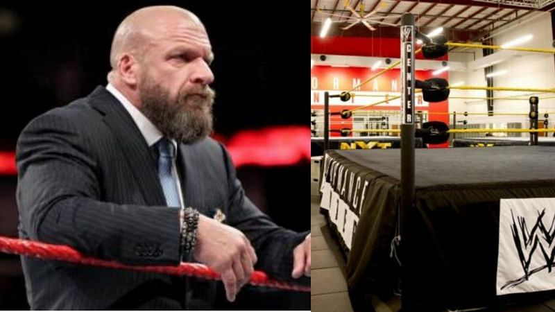 A surprising series of events took place on Triple H