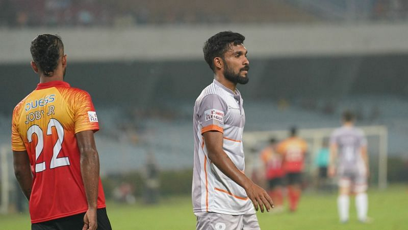 Edwin Vanspaul won the I-League title with Chennai City FC.