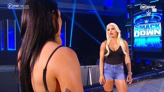 Mandy Rose felt betrayed after what was revealed on SmackDown