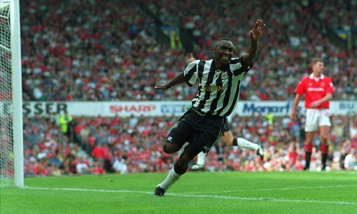 The goals of Andy Cole helped to fire Newcastle into a 3rd place finish in their first Premier League season campaign