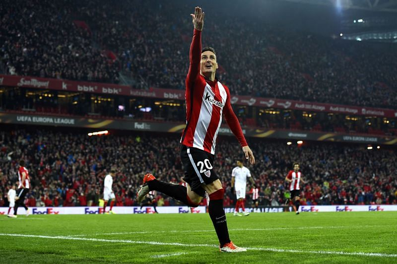 Aritz Aduriz has dramatically improved his goal rate as his career has gone on