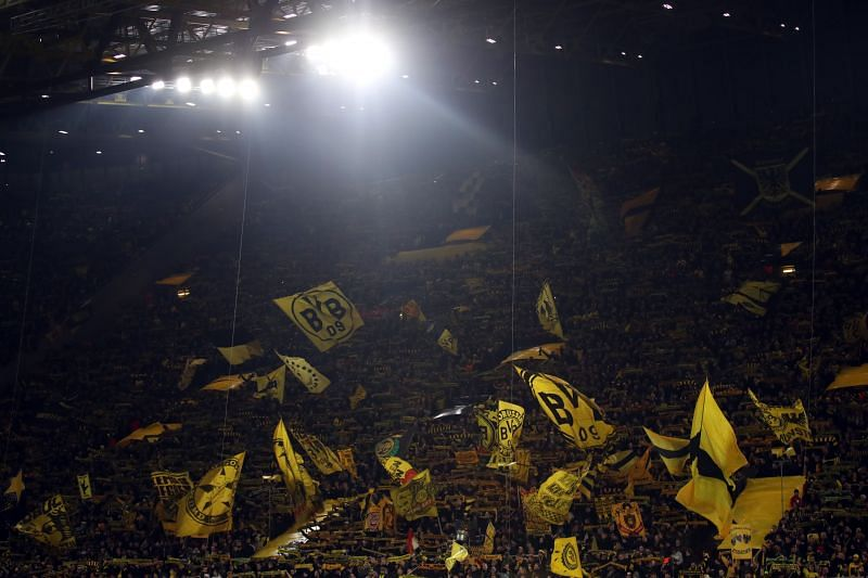 The Yellow Wall is one of the sights to behold in world football