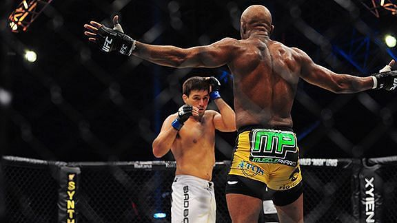 Anderson Silva spent most of his fight with Demian Maia taunting his foe