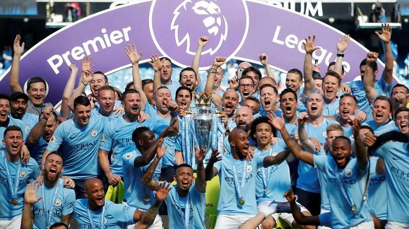 Manchester City won the Premier League in 2018 recording a record 100 points during the season