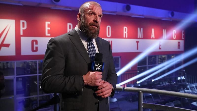 Triple H at the WWE Performance Center