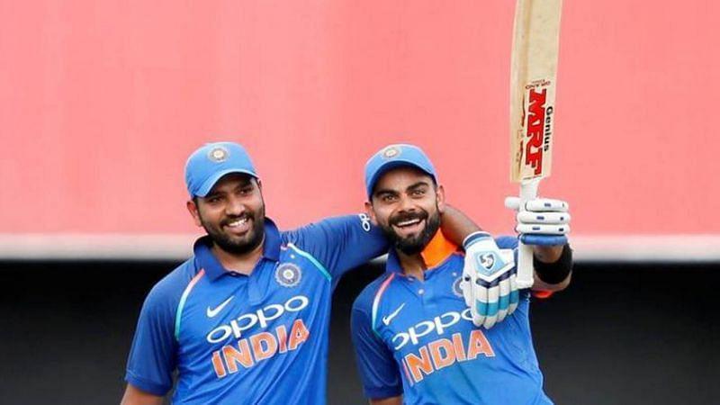 Rohit Sharma and Virat Kohli slaying off opponents