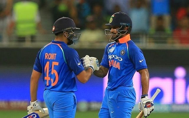 Rohit Sharma and Shikhar Dhawan form a formidable opening pair for India in ODIs