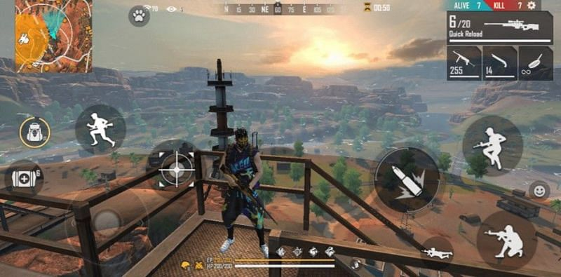 Free Fire में The refinery