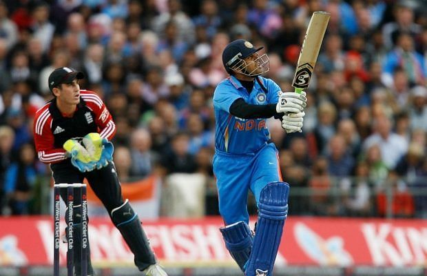 In his one and only T20I, Rahul Dravid hit three sixes off a Samit Patel over.