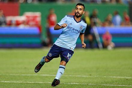 Maximiliano Nicolás Moralez plays for New York City FC currently