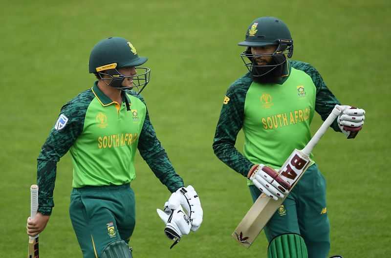 Hashim Amla and Quinton de Kock formed an impressive opening pair in ODIs for South Africa.