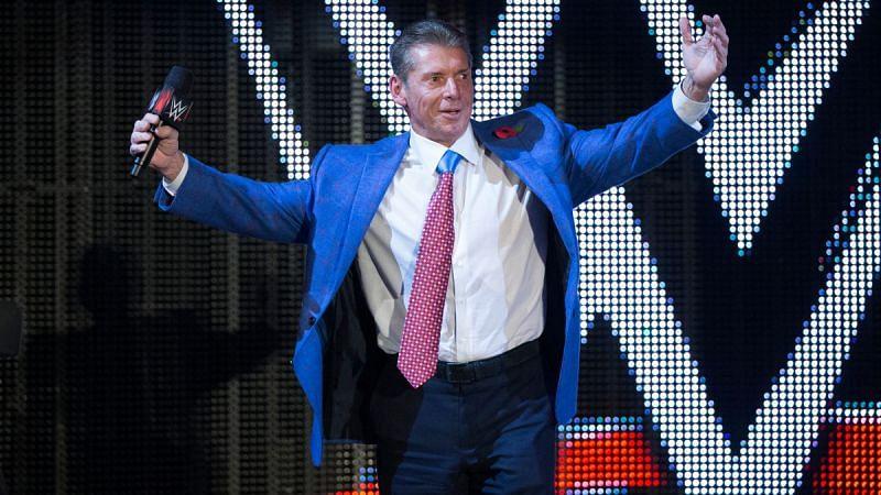 WWE CVince McMahon