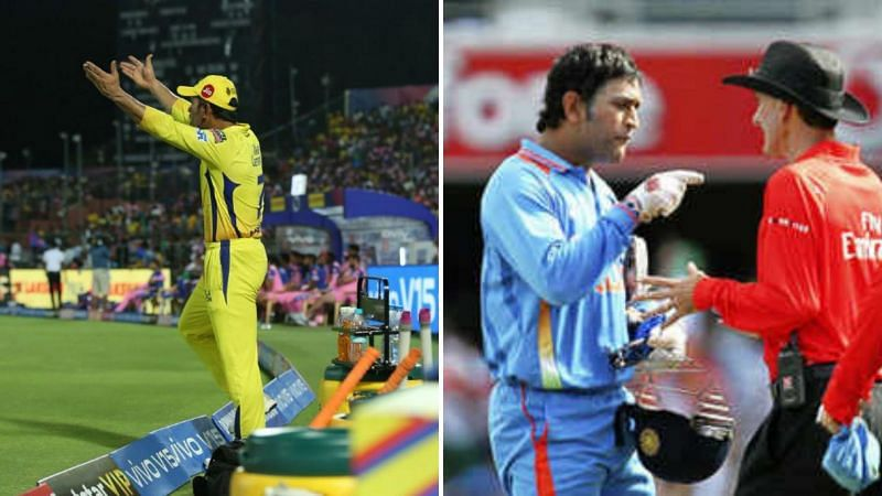 MS Dhoni has lost his cool on a few occasions