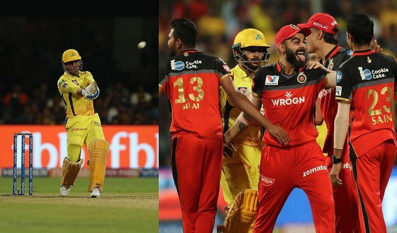 आरसीबी vs सीएसके, आईपीएल 2019