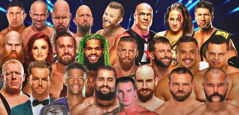 WWE से निकाले गए रेसलर्स