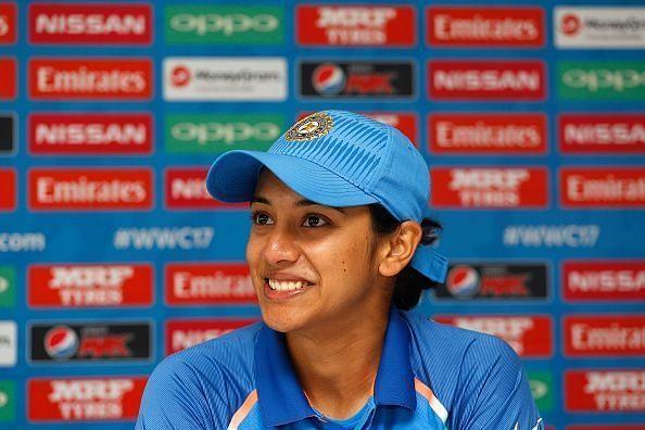 Smriti Mandhana struggled to get going in the ICC Women