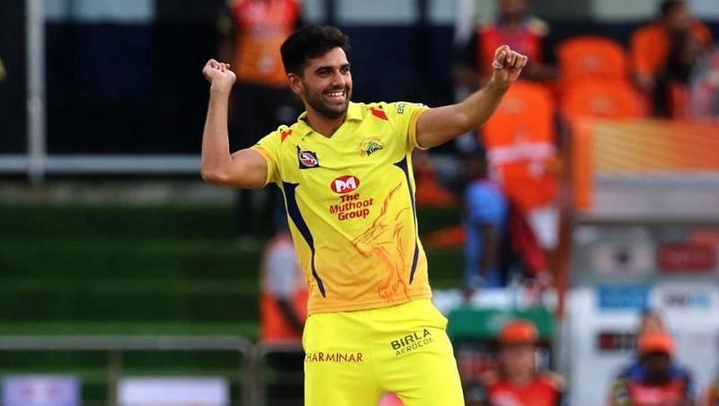 Deepak Chahar has been CSK