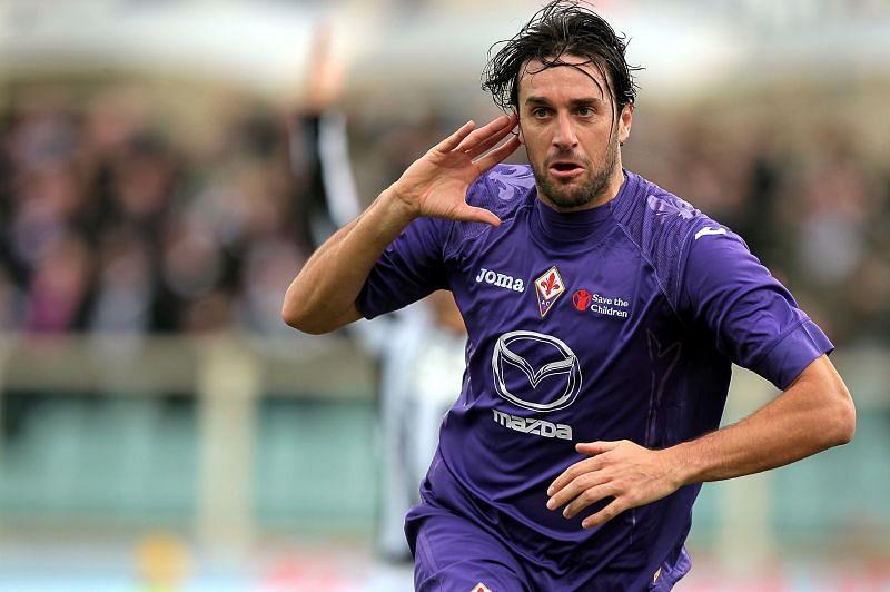 Italian striker Luca Toni is amongst football