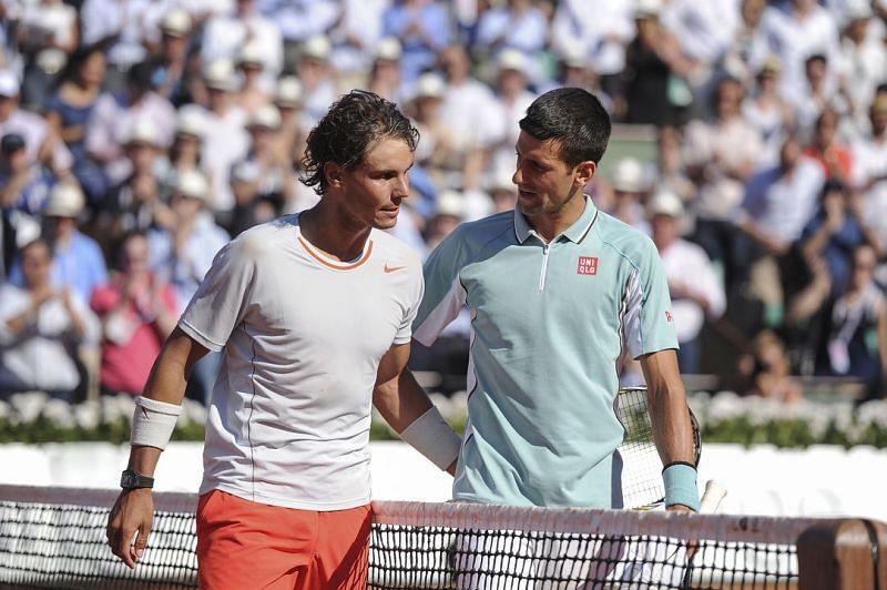 Rafael Nadal played a memorable semifinal against Novak Djokovic at 2013 Roland Garros