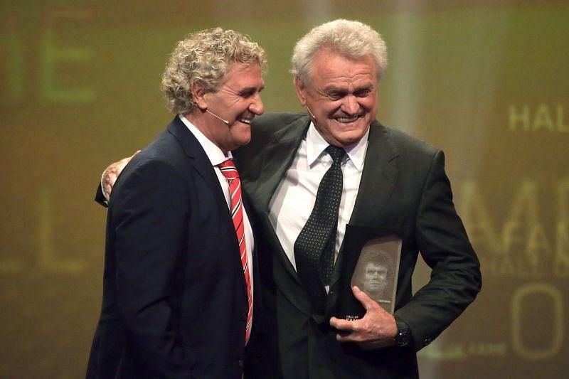 Sepp Maier at Hall Of Fame Gala In Dortmund