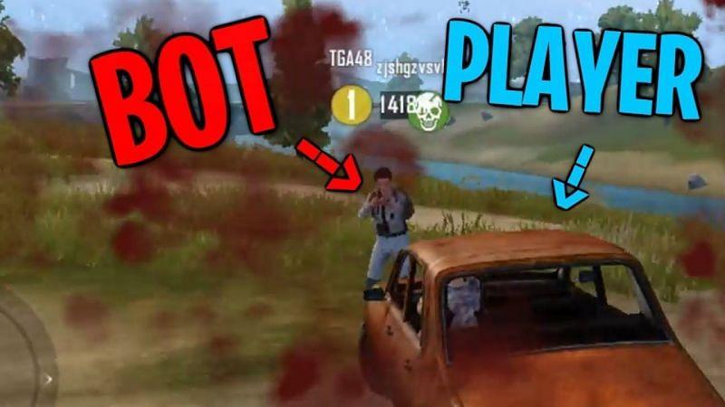 Bot vs. Player in PUBG Mobile