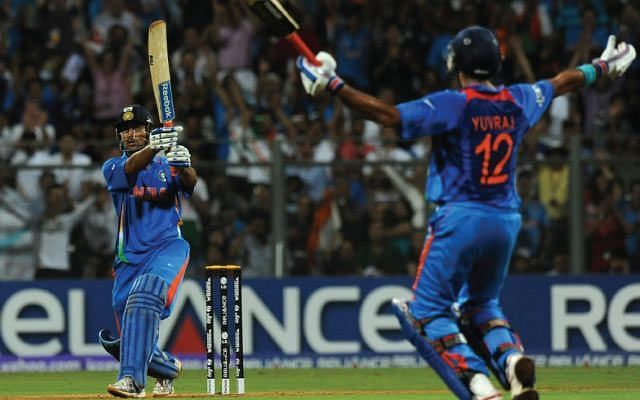 The iconic finishing six of the 2011 ICC World Cup