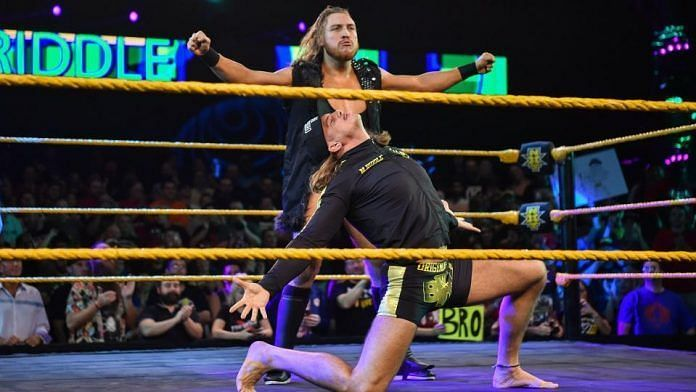 Riddle and Dunne have taken off as a tag team!