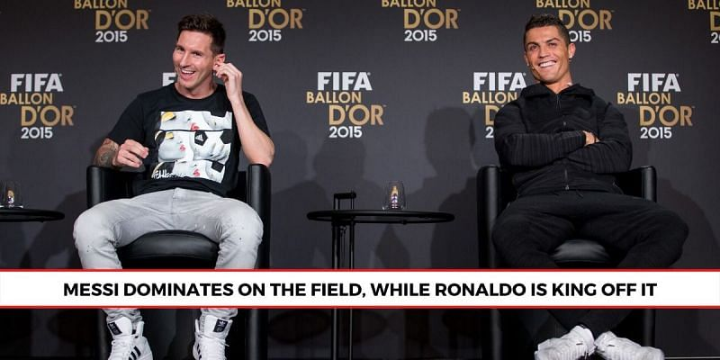 Both Lionel Messi and Cristiano Ronaldo feature on the Forbes list