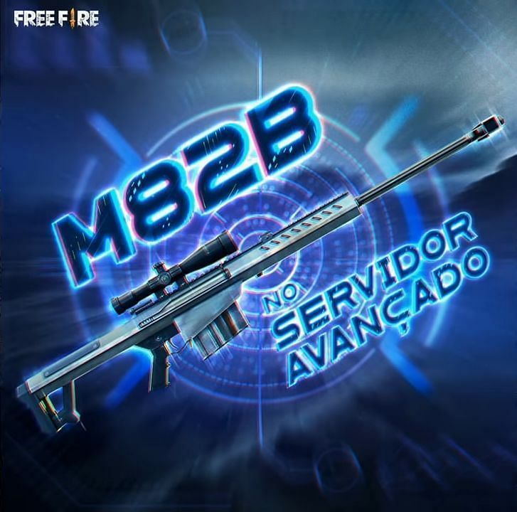 M82B Gun in Free Fire