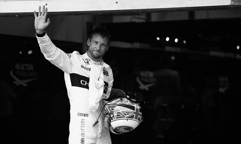 Button was always a class act on the grid and off it