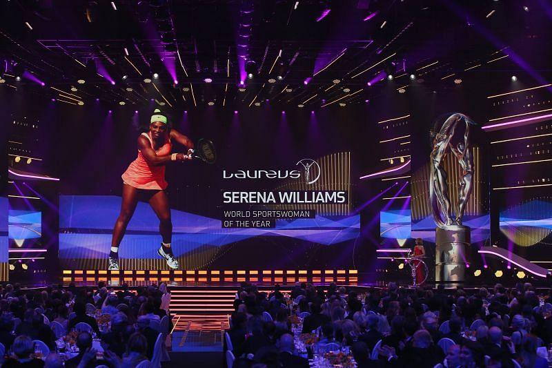 Serena Williams is a five-time Laureus Award winner