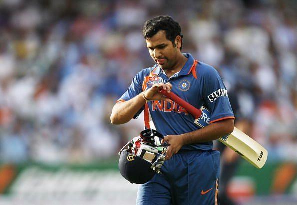 रोहित शर्मा भारत के लिए टी20 अंतर्राष्ट्रीय में सबसे ज्यादा बार 0 पर आउट हुए हैं