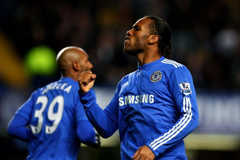 Drogba contributed to a staggering 39 goals that season.