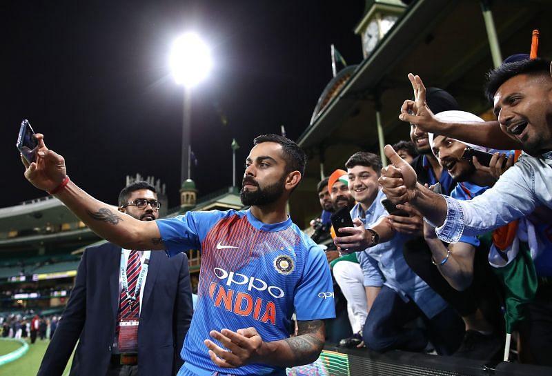 Fans will miss the exuberance of Virat Kohli, live on the field