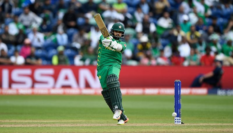 Azhar Ali in action during the 2017 Champions Trophy