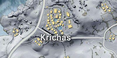 Krichas in Vikendi map