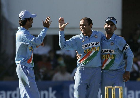 Sehwag was India's first T20I captain