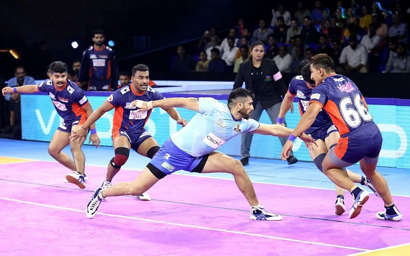 Rahul Chaudhari turned out for the Tamil Thalaivas in Pro Kabaddi Season 7