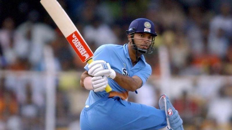 Yuvraj Singh showcased his all-round skills at the 2000 under-19 WC