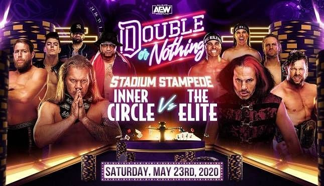 The Inner Circle will face Matt Hardy and The Elite in the first Stadium Stampede match
