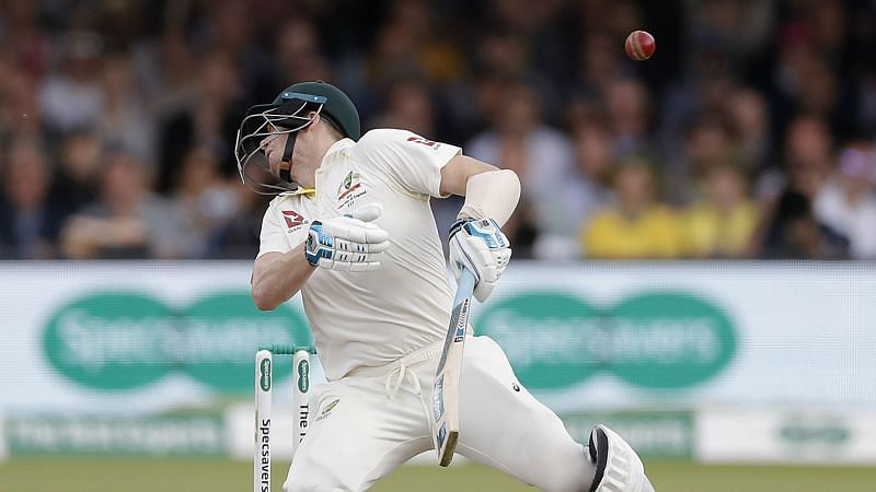 Smith knocked over by Archer