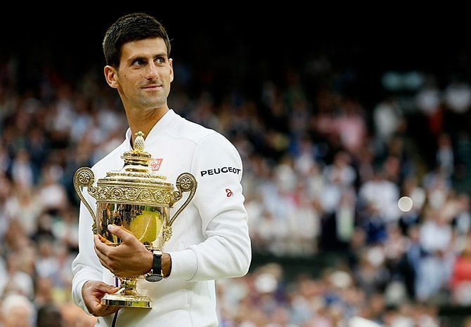 Novak Djokovic realized a childhood dream by winning Wimbledon in 2011