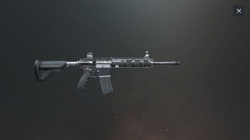 PUBG Mobile M416 gun, picture credits: Cyril Gaming