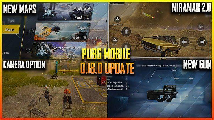PUBG Mobile 0.18.0 Update
