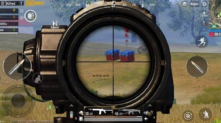 PUBG Mobile, picture credits:The Indian Express